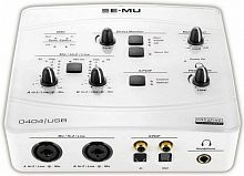 Creative Professional E-Mu 0404 USB White USB 44, 22, Mic/Inst (+48), S/PDIF IN/OUT (opt./coax)