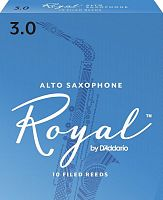 D`ADDARIO WOODWINDS RJB1030 ROYAL, ALTO SAX, #3, 10 BX